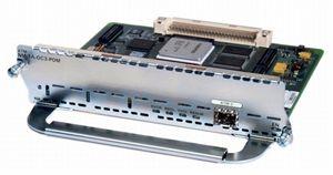 CISCO ATM OC3 module with single POM (SFP) slot (NM-1A-OC3-POM=)