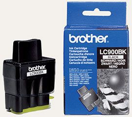 Brother LC900BK sort