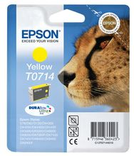 EPSON ink T071 yellow blister (C13T07144021)