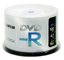 DVD-R 4.7 GB 16X CAKEBOX 100P