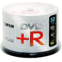 FUJI DVD+R 4.7 GB 16X CAKEBOX 100P (48274)