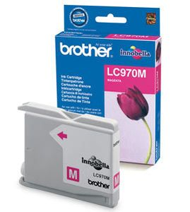 BROTHER Ink Cart/mag Single Blist+DR Sec Tag (LC970MBPDR)