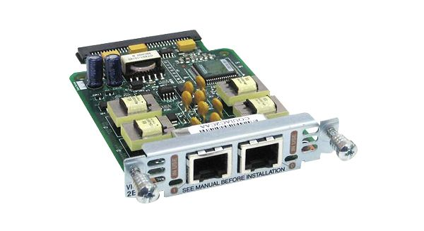 Two-port Voice Interface Card E and M
