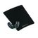 FELLOWES - CRYSTAL - mouse and wrist pad Health-V, PALM, black