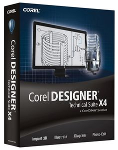 COREL DESIGNER TECHNICAL SUITE X4 61-120U IN (LCCDTSX4MLPCD)