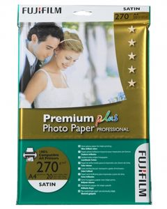 FUJI Premium Plus Photo Paper Prof Satin 20 Bl A 4 270 g (15769493)