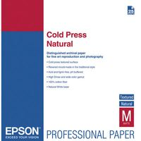 EPSON A3+ Cold Press Natural  25 ark (C13S042300)