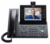IP Phone/ 9971 Std Hndst w/Cam Charcoal