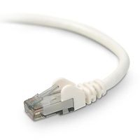 Patch Cable/ Cat6 STP 1m white snagless
