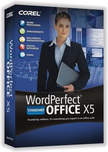 COREL WORDPERFECT OFFICE X5 STD LICENSE ML (351-500) IN (LCWPX5MLG)