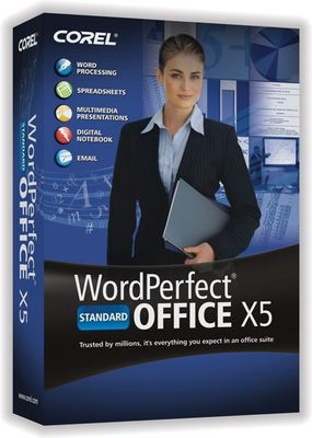 WORDPERFECT OFFICE X5 STD LICENSE ML (61-120) IN