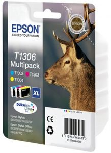 EPSON Ink Cart/T130 Multi Pack