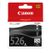 CANON CLI-526 BK BLISTER NO SECURITY BLACK INK CARTRIDGE