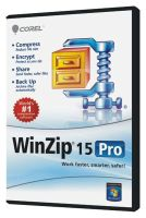 WINZIP 15 PROF LICENSE (200-499) UK