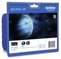 BROTHER LC-1280 XLBK schwarz Twin-Pack (LC1280XLBKBP2DR)