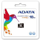 A-DATA 16GB microSDHC Card Class 4 incl adapter