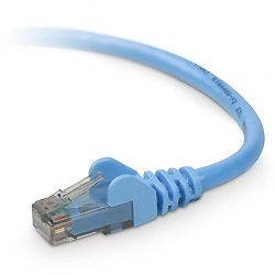 Cat 6 Snagless Patch Cable M-M Blue 15m
