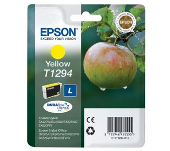 EPSON Ink Cart/T129 Yellow w/Tag (C13T12944021)