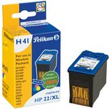 PELIKAN HP C9352AE Color, Hp No. 22XL, 1 Cartridge