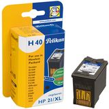 PELIKAN HP C9351AE, Black HP No. 21XL, 1 Cartridge