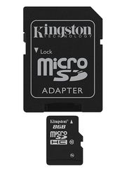 KINGSTON microSDHC 8GB - Minnekort (SDC10/8GB)