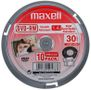 MAXELL DVD-RW 8CM 30MIN 1 4GB SINGLE SIDED CAKEBOX 10-PACK NS