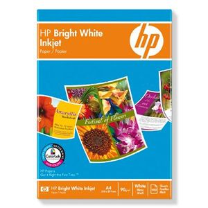 HP Bright White Inkjet papper-500 ark/ A4/ 210 x 297 mm (C1825A)
