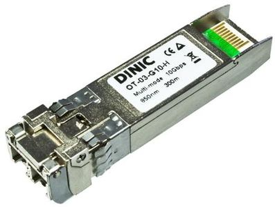 1MAG DINIC  10G  SFP+  Transceiver  LC  Multi-Mode  300m  Compatible with HP J9150A (OT-03-G10-H)