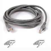 BELKIN Patchcable Cat5e UTP 0,50m grey bag