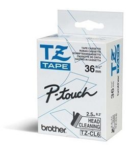BROTHER Ribbon/ 36mm cleaningtape  f TZE (TZECL6)