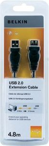 BELKIN USB Extension Cable 4,8 m Hi-Speed 2.0 extension (F3U153CP4.8M)