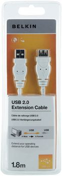 USB A/A Extension Cable A-M/F DSTP 1.8M