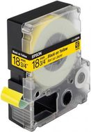 LC-5YBP9 - TAPE 18MM PASTEL BLACK ON YELLOW SUPL