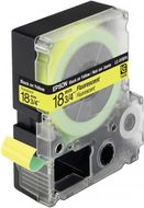 LC-5YBF9 - TAPE 18MM FLUORESCENT BLACK ON YELLOW SUPL