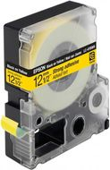 EPSON LC-4YBW9 - TAPE 12MM STRONG ADHESIVE BLACK ON YELLOW SUPL (C53S625409)