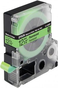 EPSON LC-4GBF9 - TAPE12MM FLUORESCENT BLACK