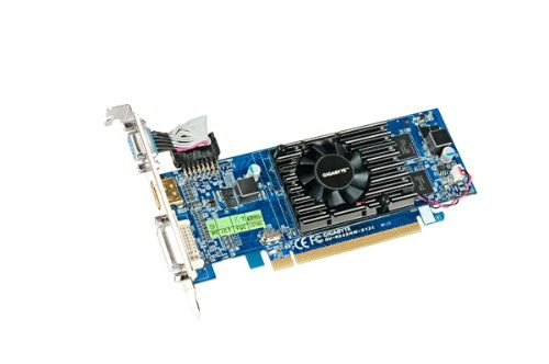 VGA-Card Radeon HD5450 128(512)MB PCI-E D-Sub/ DVI/ HDMI HDCP Heatsink Low Profile DDR3