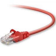 CAT5e Sng/Shd Patch Cable RJ45M 1M Red
