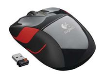 LOGITECH Maus Logi M525 Laser wireless black