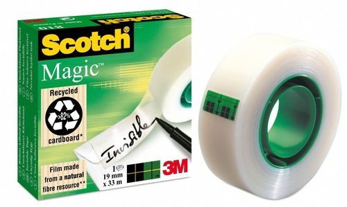 3M Scotch magic tape 810 19mmx33m (810/19/33)