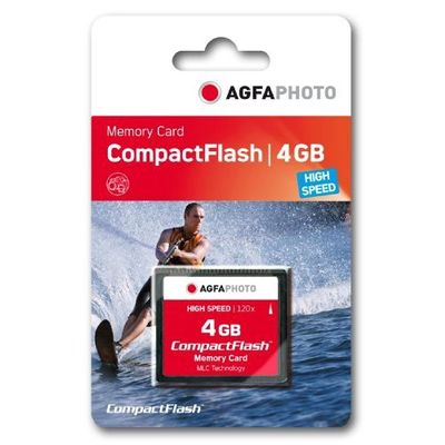 Compact Flash      4GB High Speed 120x MLC