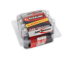 1x20 Alkaline Mignon AA red-line Box
