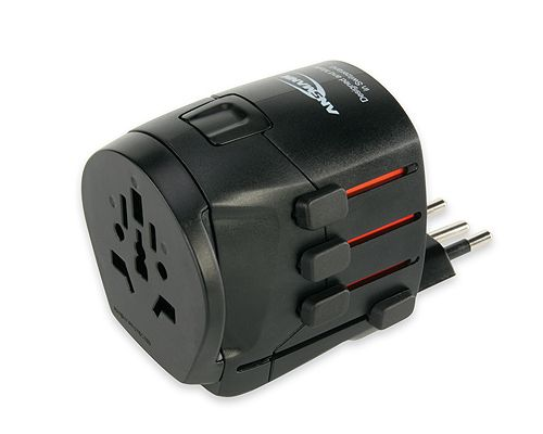 1809ann All in One 3 universal travel adapter