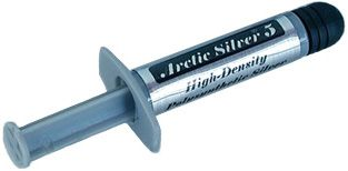 ARCTIC SILVER 5 High-Density Polysynthetic Silver Thermal Compound CPU Køler - Kølepasta - (900100133)