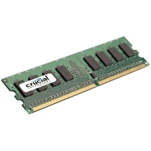 CRUCIAL 2GB DDR2 800MHz (PC2-6400) CL5  Fully Buffered ECC FBDIMM 240pin (CT25672AF80E)
