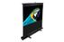 ELITE SCREENS 80IN DIAG PORTABLE FLOOR PULL UP 16:9 39 X 70 TELESCOPE