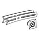 ERGOTRON BOW UPGRADE KIT 2 EXTENDERS  1 MIDDLE PIVOT BLK IN