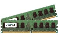 CRUCIAL 4GB kit (2GBx2) DDR2 800MHz (PC 2-6400) CL5 Fully Buffered ECC FBDIMM 240pin (CT2KIT25672AF80E)