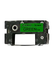 CASIO TR-18 GN green Ink Ribbon Cassette (TR-18GN)
