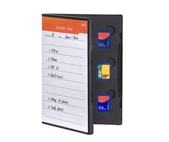 Card Safe Store SD black